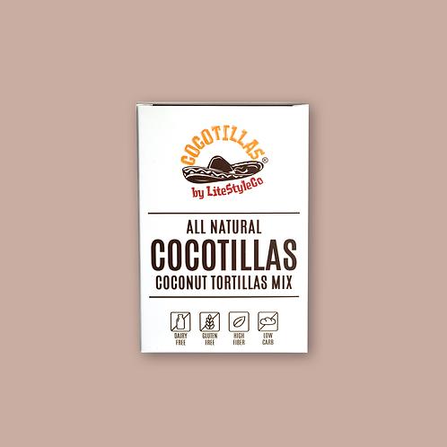 Cocotillas® 低GI高纖墨西哥餅皮 (324g)