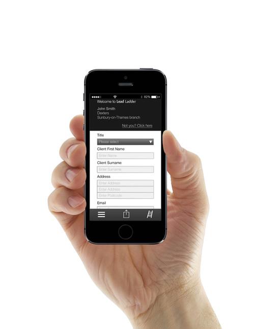 Leadladder user interface
