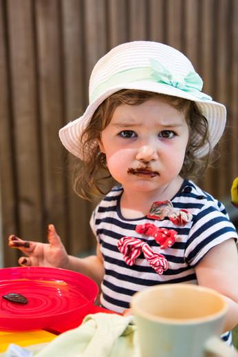Amelia enjoying her birthday party | Slough