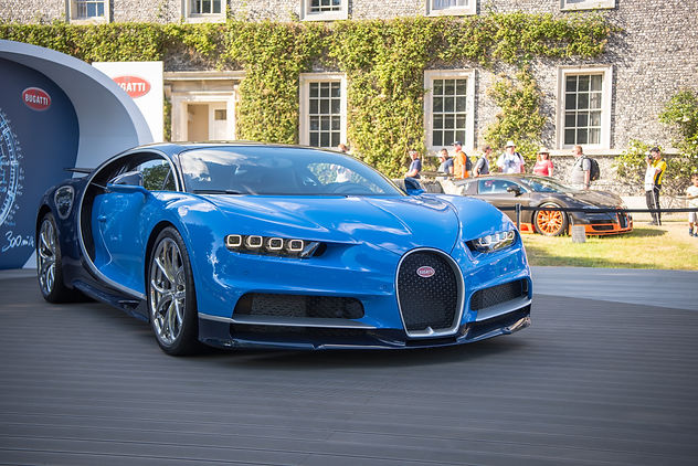 Bugatti Chiron at Goodwood Festival of Speed 2017