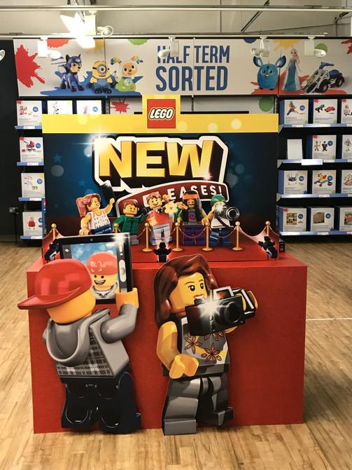 LEGO display table for Argos