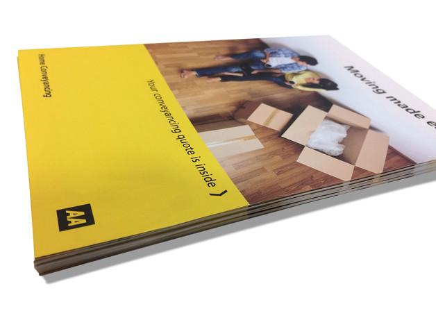 AA Conveyancing brochures