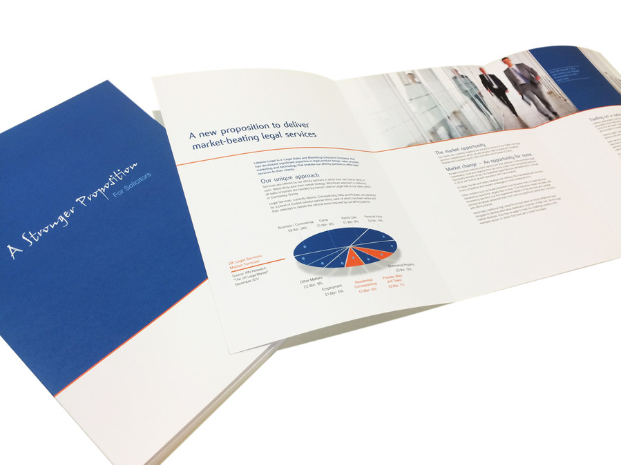 Lifetime Legal - Solicitor proposition marketing material