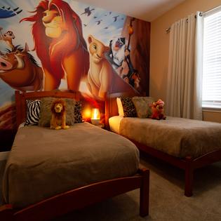 LION KING BEDROOM