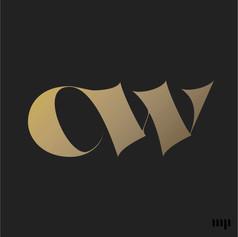CW monogram