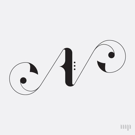 AN monogram