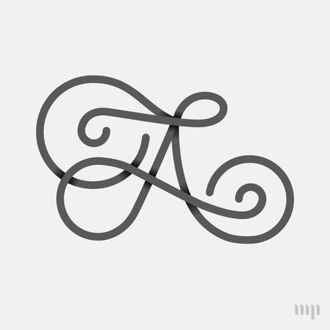 AL monogram