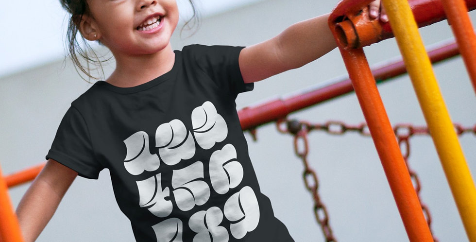 Numberals Toddler (2T-5T) Tee
