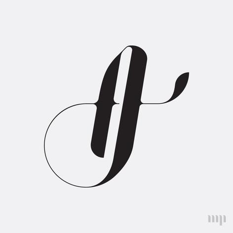 AJ monogram