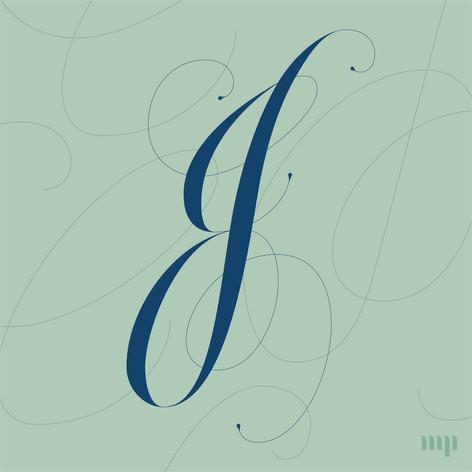 CJ monogram