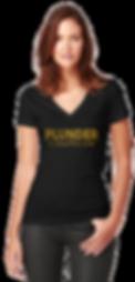 Plunder pirate game female shirt