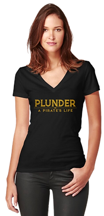 Plunder pirate game female shirt