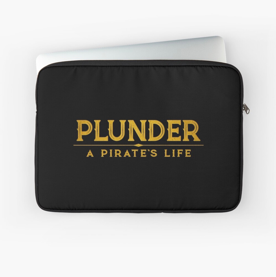 plunder board game laptop case