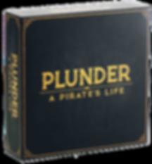 Plunder pirates life board game box