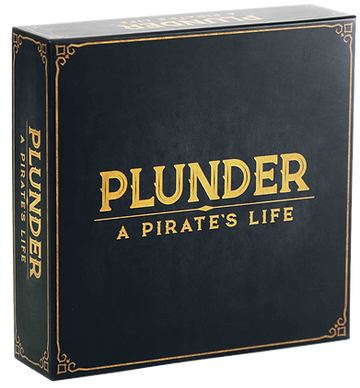 Plunder pirates life board game box