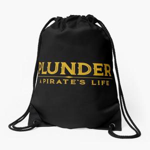 plunder drawstring bag