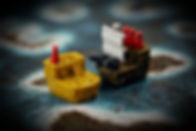plunder board game battle ships cannons