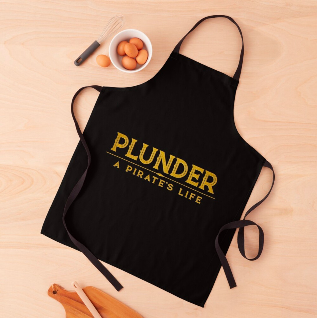 plunder board game apron