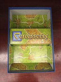 Carcassonne Insert tray