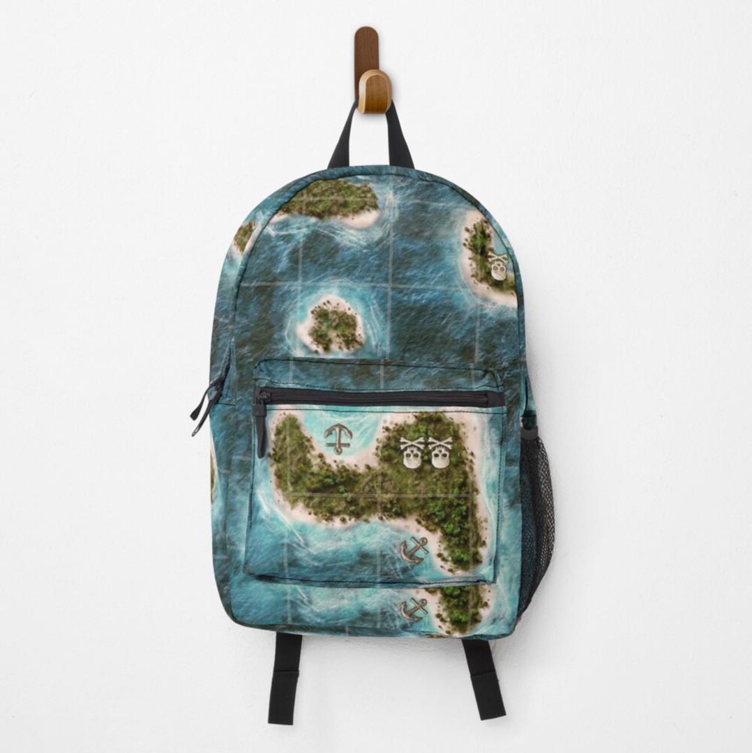 plunder board game backpack map