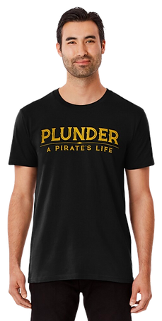 plunder pirate game male shirt