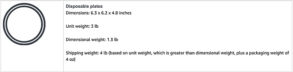 amazon Diemnsional weight example 2.png