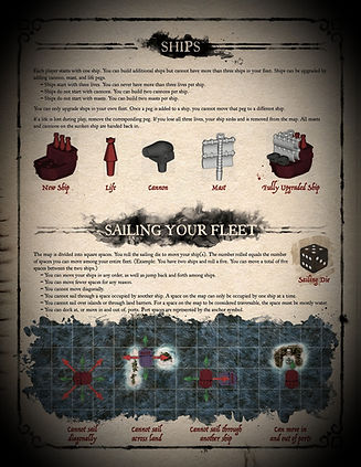 Plunder board game rulebook