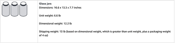 amazon Dimensional weight example 1.png