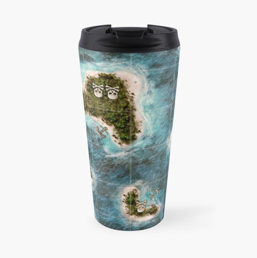 plunder pirate game travel mug