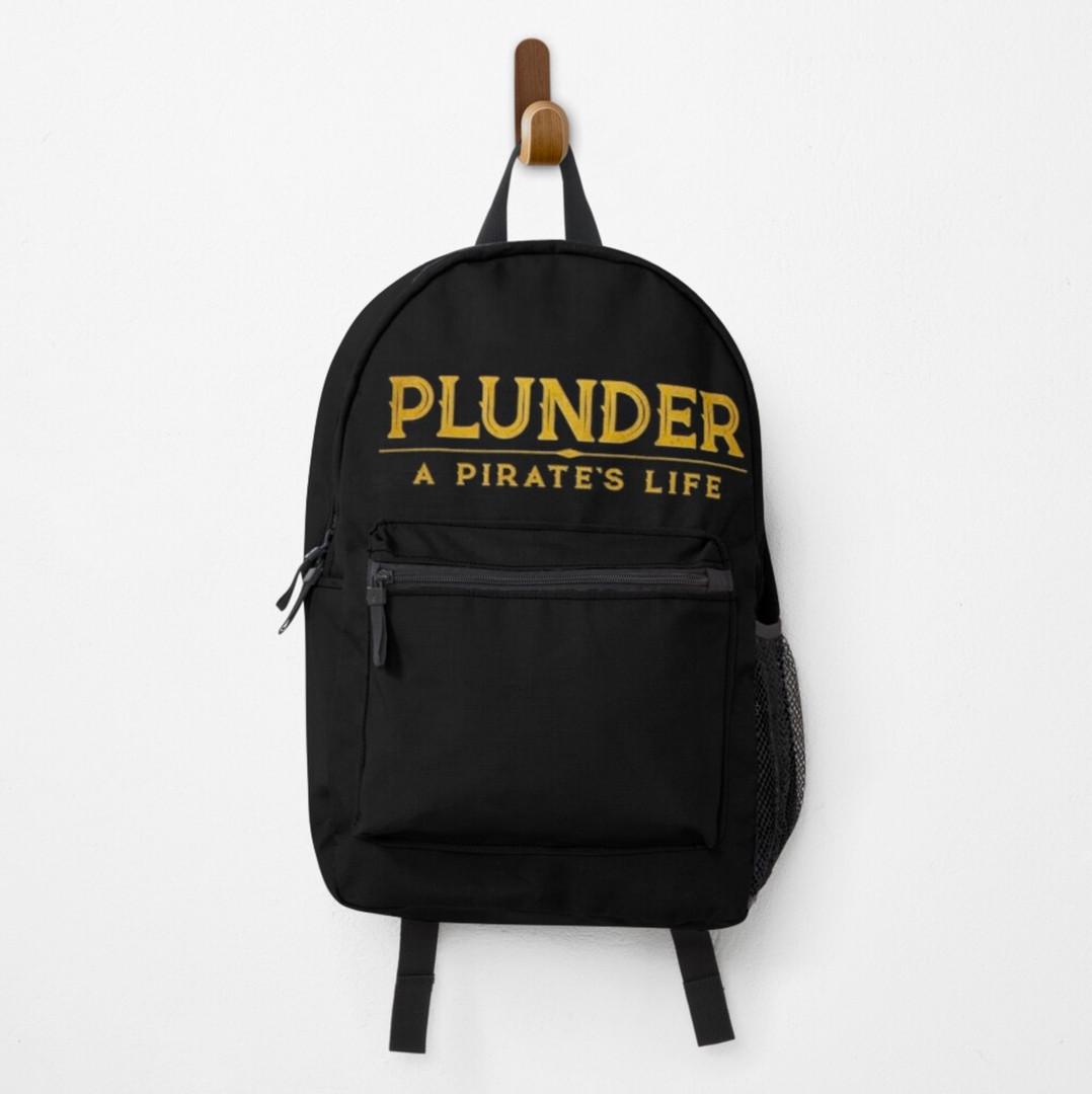 plunder board game backpack