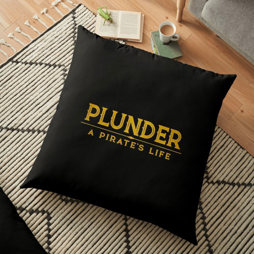 plunder board game pillow