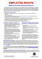 employee rights under the national labor