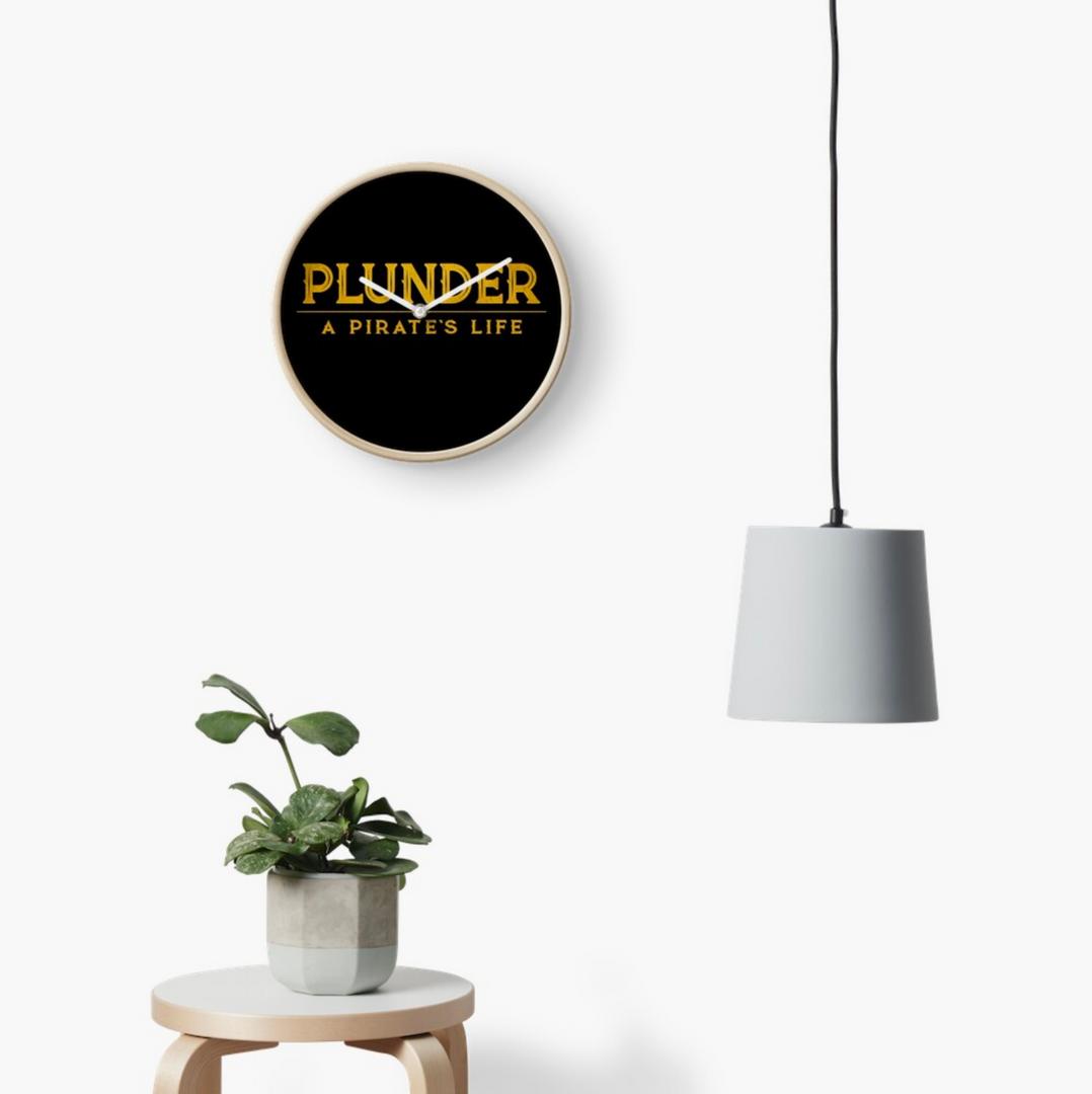 plunder pirate's life clock