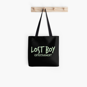lost boy entertainment tote bag