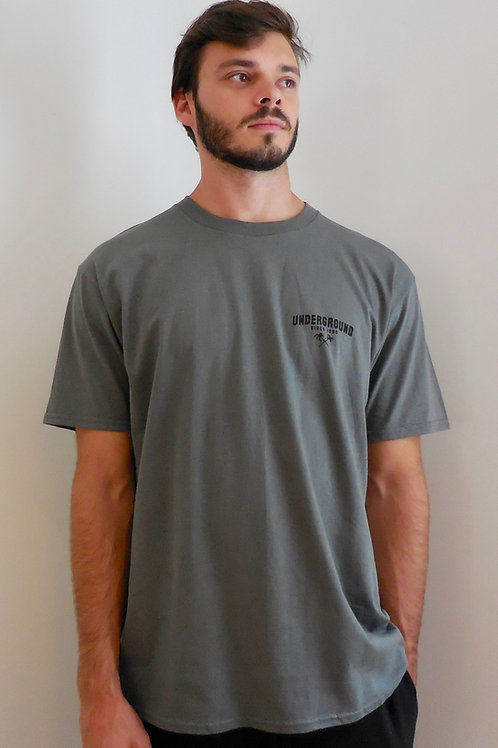 Classic Tee in Charcoal