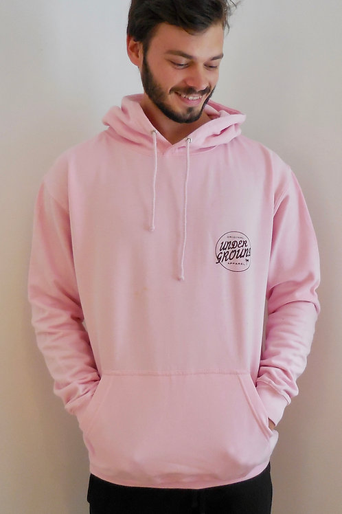 Leon hoody in pale pink