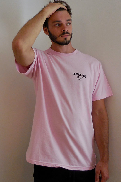 Classic tee in pale pink