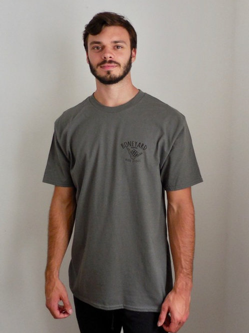 Ride it Out Tee Charcoal