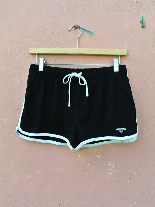 Run Shorts in Black