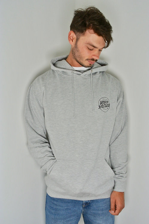 Leon hoody in heather grey