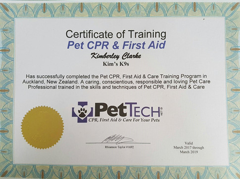 Pet First Aid & CPR