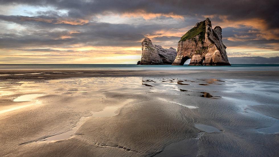 Wharariki Beach - Golden Bay - South Island - New Zealand