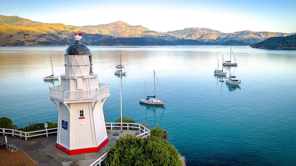 Akaroa - Lighthouse - South Island - New Zealand