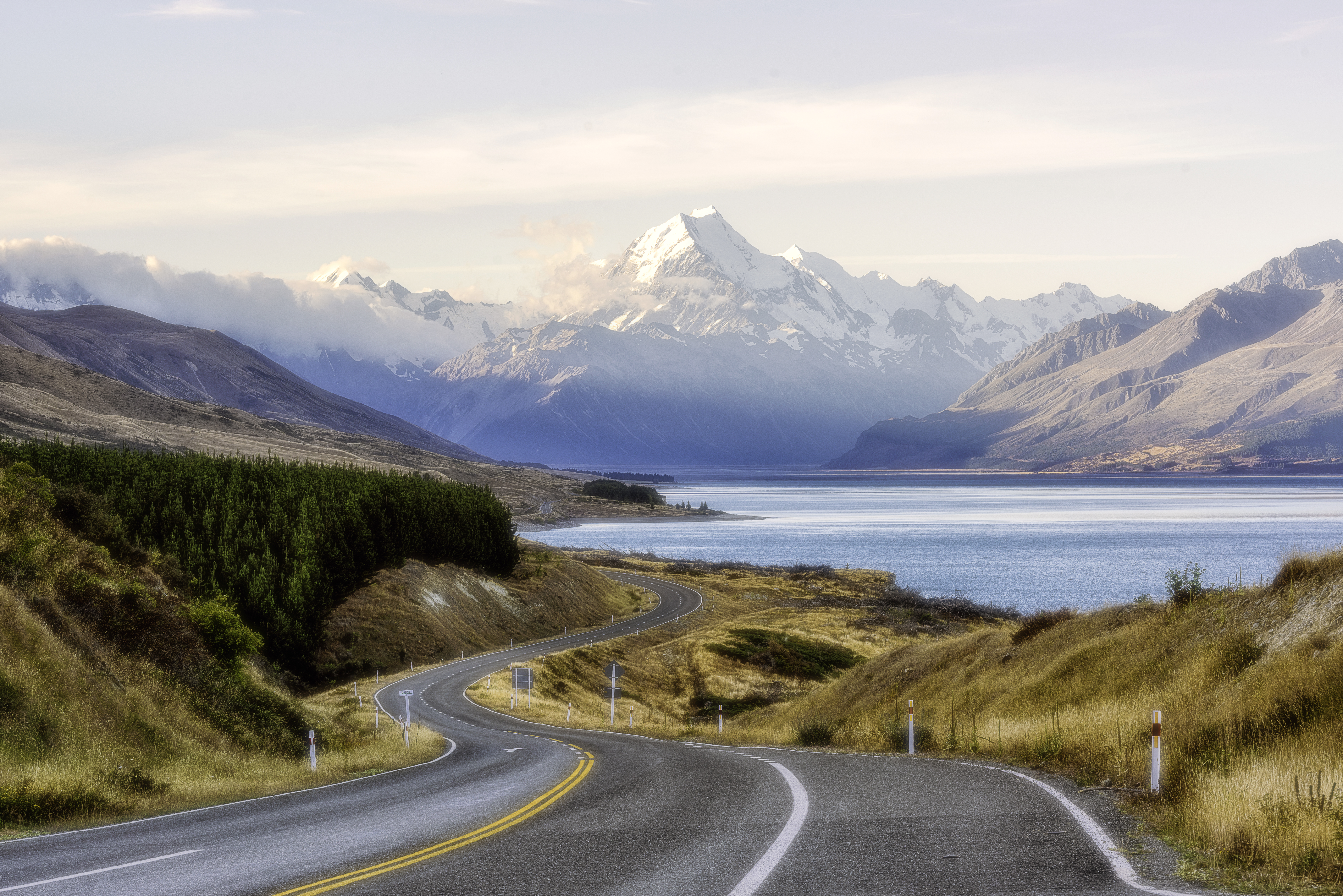 Mt Cook - Lake Pukaki - New Zealand