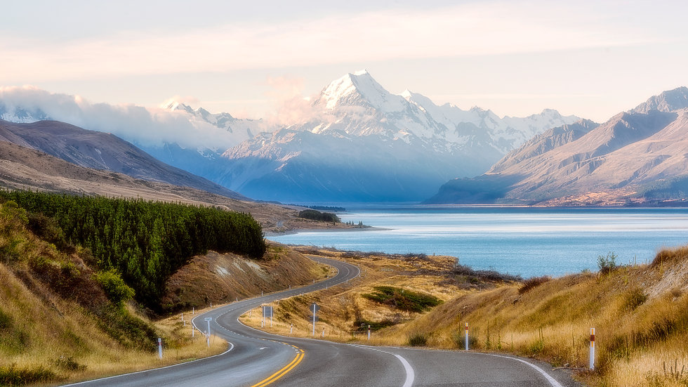Mt Cook - Lake Pukaki