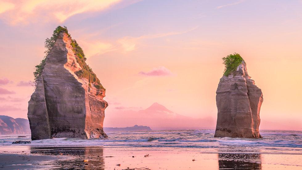 The Three Sisters - Taranaki - New Zealand