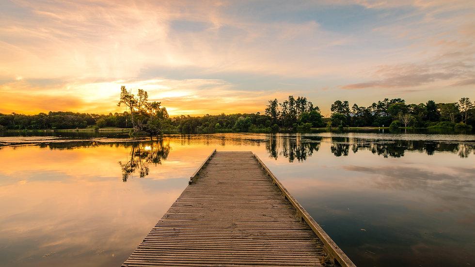 Waikato Sunset - Jones Landing - South Waikato