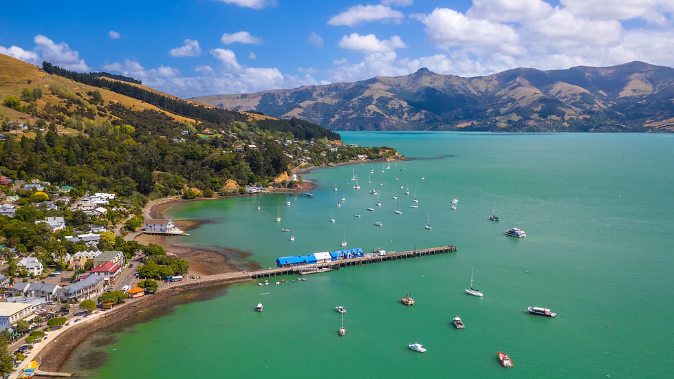 Akaroa - Bay - New Zealand