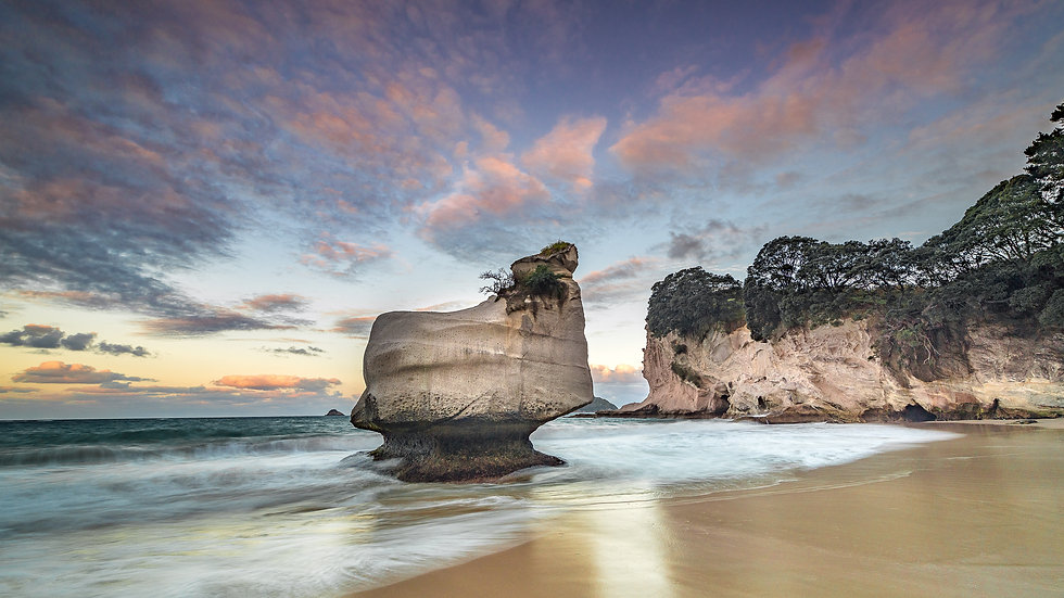Sphinx Rock - Cathedral Cove - North Island - NZ