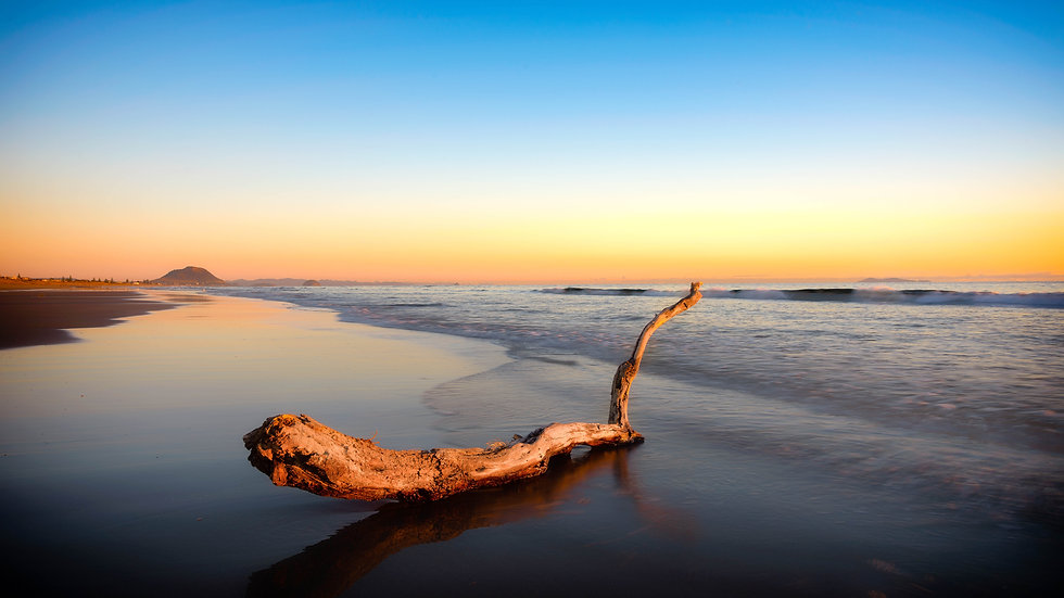 Papamoa Beach - Sunrise - New Zealand